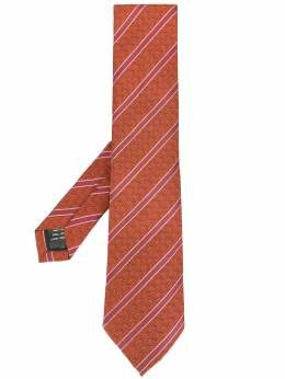 Gieves & Hawkes галстук в полоску G3579EO03063