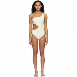 Solid And Striped Off-White The Claudia One-Piece Swimsuit WS-1071
