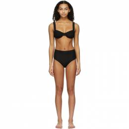 Solid And Striped Black The Lilo Bikini RE21-150BO-S/RE21-093