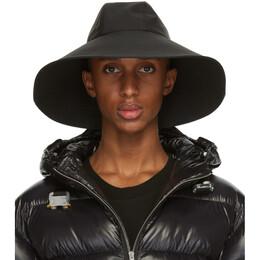Moncler Genius 6 Moncler 1017 Alyx 9SM Black Wide Brim Beach Hat F209Y3B7000054APY