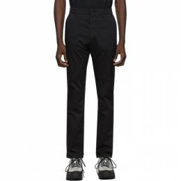 Norse Projects Black Slim Aros Trousers N25-0263