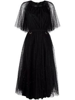 Maria Lucia Hohan платье Shani с бисером SHANIBLACK