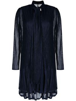 See By Chloe расклешенное платье с бантом CHS21SRO41023
