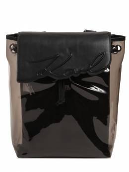 Рюкзак Из Искусственной Кожи И Пвх Karl Lagerfeld 73IOFN094-MDlC0