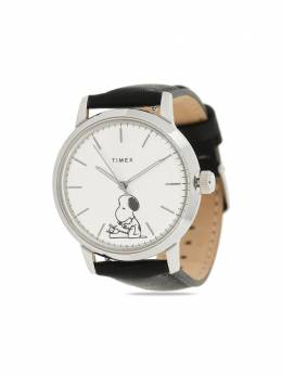 Timex наручные часы Marlin Typing Snooping 70th Anniversary 40 мм из коллаборации с Peanuts TW2U71200