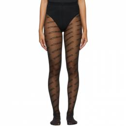 Vetements Black Wolford Edition Logo Tights wah21ac302