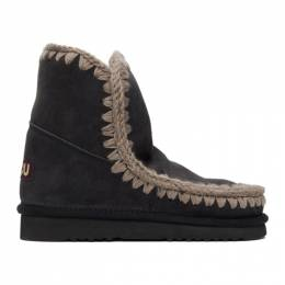 Mou Black 18 Ankle Boots MU.FW101001A