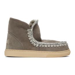 Mou Grey Sneaker Boots MU.FW111000A