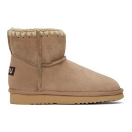 Mou Brown Classic Boots MU.FW321000A