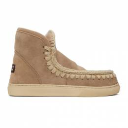 Mou Taupe Sneaker Boots MU.FW111000A