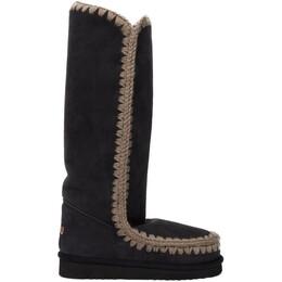 Mou SSENSE Exclusive Black 40 Tall Boots MU.FW101002A