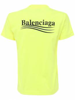 Футболка Из Джерси С Логотипом Balenciaga 73IX2X011-NzExMA2