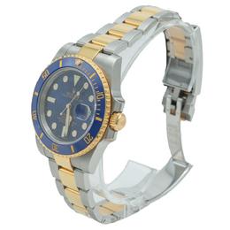 Rolex Blue Submariner 116613 Steel & Yellow Gold Men's Watch 40 MM 365886