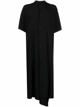 Y's платье-рубашка с воротником-стойкой YTD01500