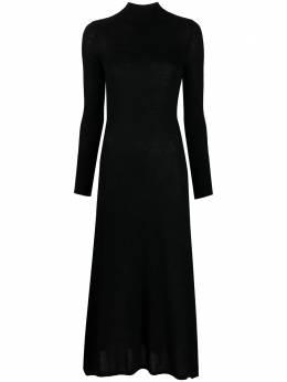 Le Kasha платье с длинными рукавами и высоким воротником NOTO000910
