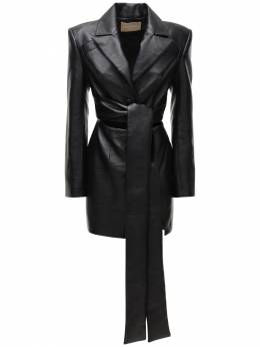 Платье Из Искусственной Кожи Materiel 73IX6R013-QkxBQ0s1