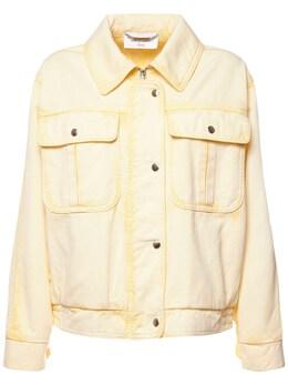 Куртка Из Хлопкового Денима Alberta Ferretti 73IM5B023-QTEwMjE1