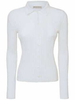 Рубашка-поло Из Хлопка Emilio Pucci 73IM57004-MTAw0