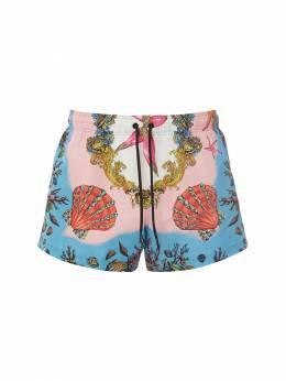Шорты Для Плавания Versace Underwear 73IGZ7003-NVkwMTA1