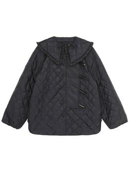 Куртка Из Вторичного Рипстоп Ganni 73IGFD006-MDk50