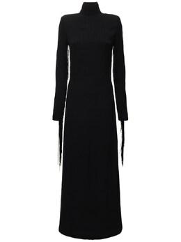 Платье Из Переработанной Вискозы Rotate 73IAHY006-MTAwMA2