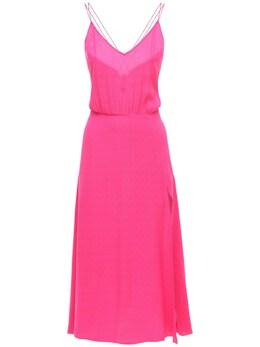 Платье Из Переработанной Вискозы Без Рукавов Rotate 73IAHY005-MTgtMjQzNg2