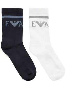 Носки Из Смешанного Хлопка Emporio Armani 73I8Z3006-MDM2MTA1