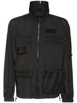 Куртка Из Переработанной Вискозы MCQ by Alexander McQueen 73I7EY005-MTAwMA2