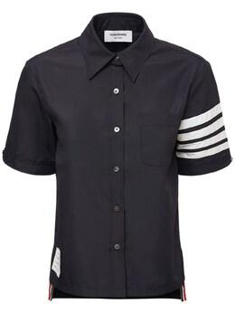 Нейлоновая Рубашка Thom Browne 73I524016-NDYx0