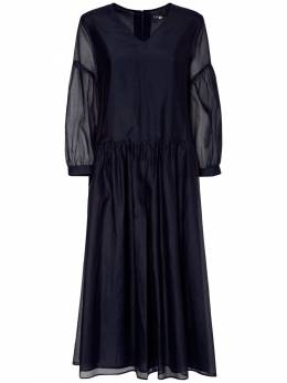 Платье Из Хлопка И Шелковой Органзы 'S Max Mara 73I519028-MDQ00