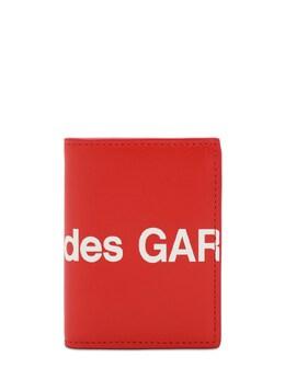 Кожаный Кошелек С Логотипом Comme Des Garcons Wallet 72IY0I005-Mg2