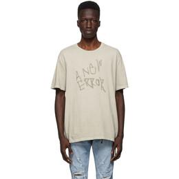 Ksubi Beige Error Kore T-Shirt 5000005926