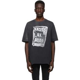Ksubi Grey Excess Biggie T-Shirt 5000005928