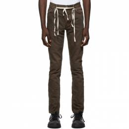 Ksubi Brown Chitch Jeans 5000005921