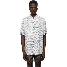 Ksubi White Riot Short Sleeve Shirt 52900