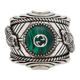 Gucci Silver Garden Snake Ring YBC499007001