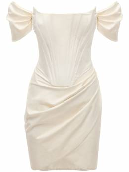 Платье Из Поплин Giuseppe Di Morabito 73IWW4001-V0hJVEUgTUlMSyAwMg2