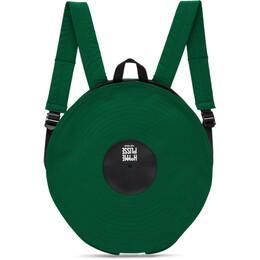 Homme Plisse Issey Miyake Green LP Backpack HP09AG537