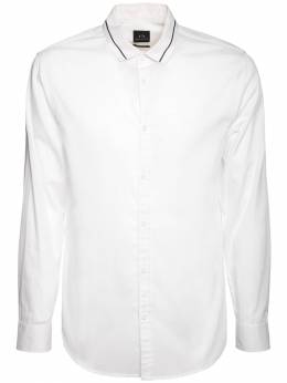 Рубашка Из Хлопка Поплин Armani Exchange 72IHLF025-MTEwMA2