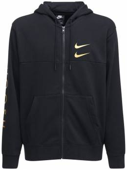 Спортивная Куртка На Молнии Из Смешанного Хлопка Nike 73IVSY286-MDEw0