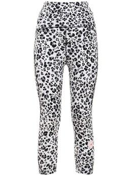 Леггинсы Truepur Tech 3/4 С Принтом Adidas by Stella McCartney 72IE0O003-V0hJVEUvQkxBQ0s1