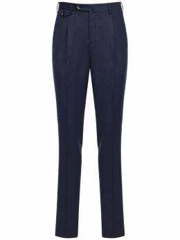 Брюки Из Шерстяной Стретч Фланели 18cm Pantaloni Torino 72I3IN006-MDM0MA2