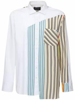 Рубашка Из Хлопка Поплин Botter 71IX5Z005-TVVMVElDT0xPUiBTVFJJ0