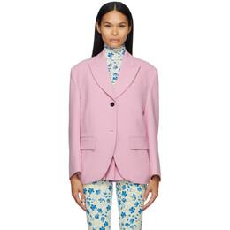 Pushbutton Pink Single Box Blazer PB2110105W