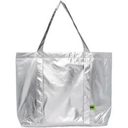 Pushbutton Silver Metallic Bag PB2110802U