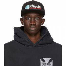Rhude Black RH Performance Cap RHU08PF20125