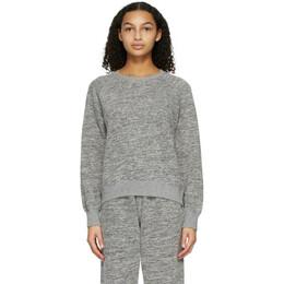 John Elliott Grey Cotton-Mix Sweatshirt WB113D1625A