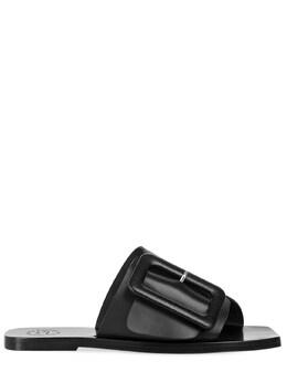 Кожаные Шлёпанцы Ceci 10mm Atp Atelier 73IIJM003-OTAw0