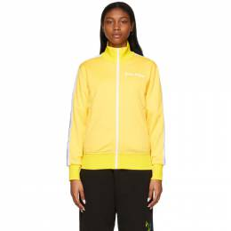Palm Angels Yellow Classic Track Jacket PMBD001R21FAB0011801