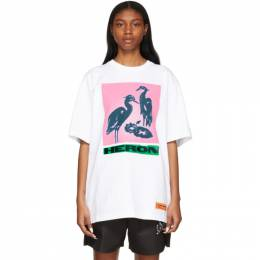 Heron Preston Off-White Nightshift T-Shirt HMAA020R21JER0030130